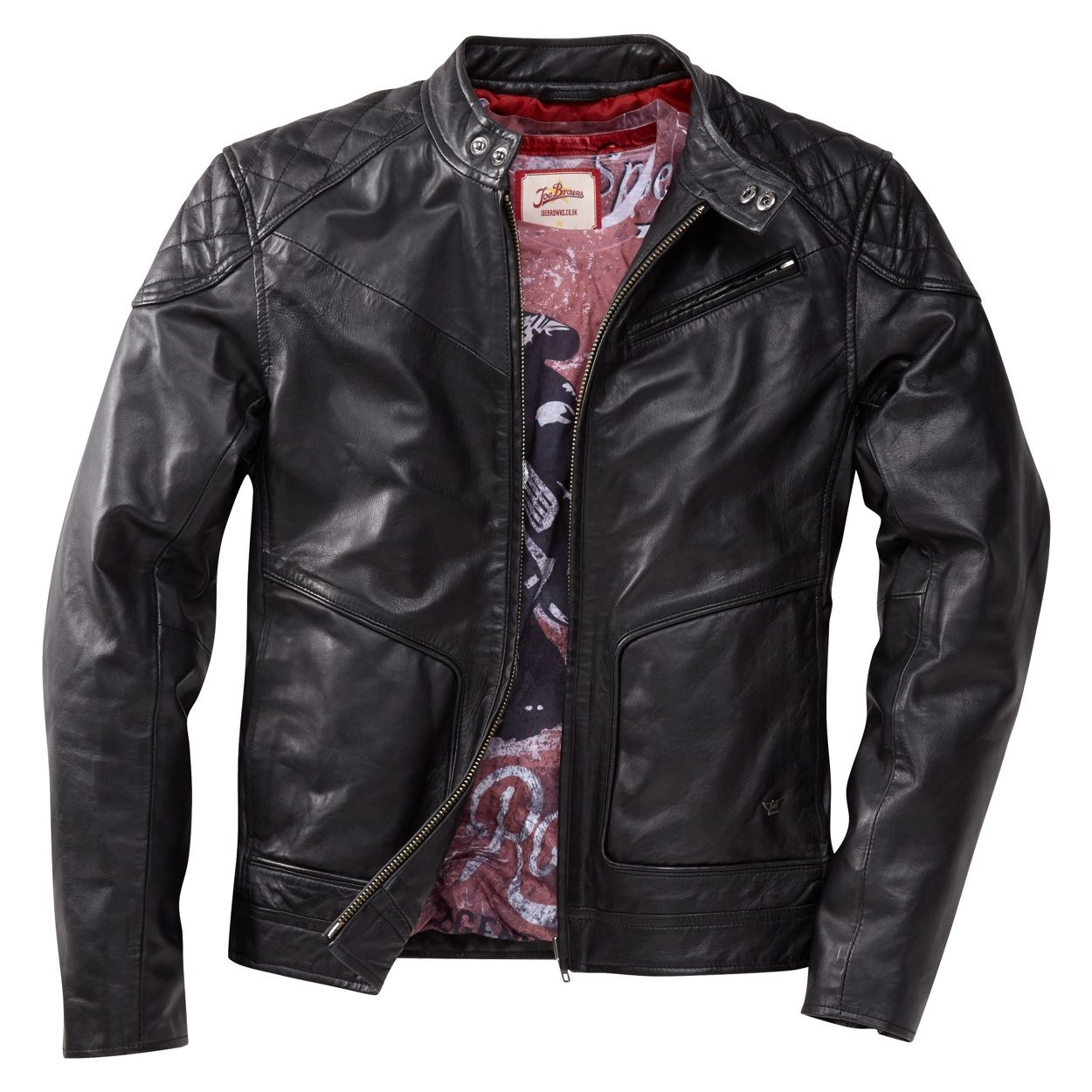 Driving gloves debenhams - Joe Browns Black Leather Biker Jacket At Debenhams Com