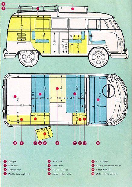 westie interior measurements | Zombie champi | Pinterest | Combi ...