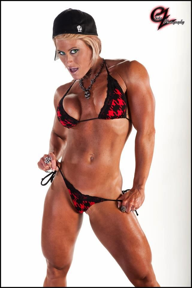 Miss Nikki Warner Sexy Fem Muscle Fitness Babe And Female