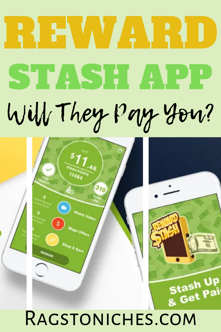 Reward Stash App Review Will They Pay You? RAGS TO