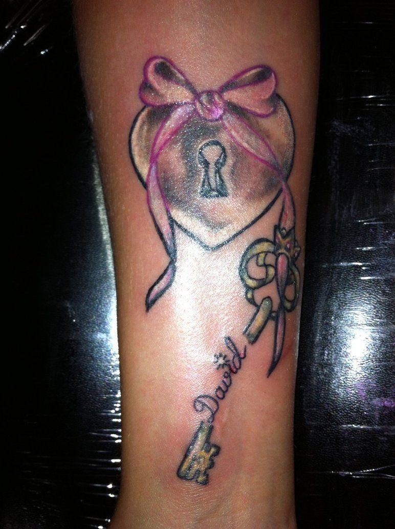 Leeslittlewonderland meaningful tattoos good ideas - Key To My Heart Tattoo Designs