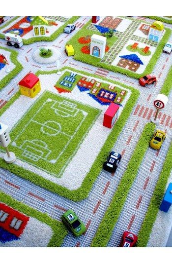 Luca And Co Traffic Play Rug With
