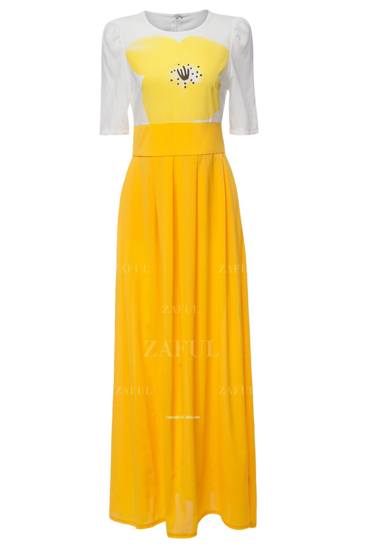 Yellow floral short sleeve maxi dress floral shorts maxi dresses