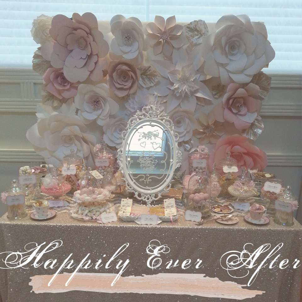 Fairytale Inspired Bridal Shower Bridal/Wedding Shower Party Ideas | Photo 1 of 8