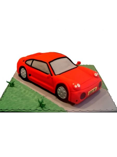 Car shaped cakes recipe Lite food recipes Pinterest Car shaped