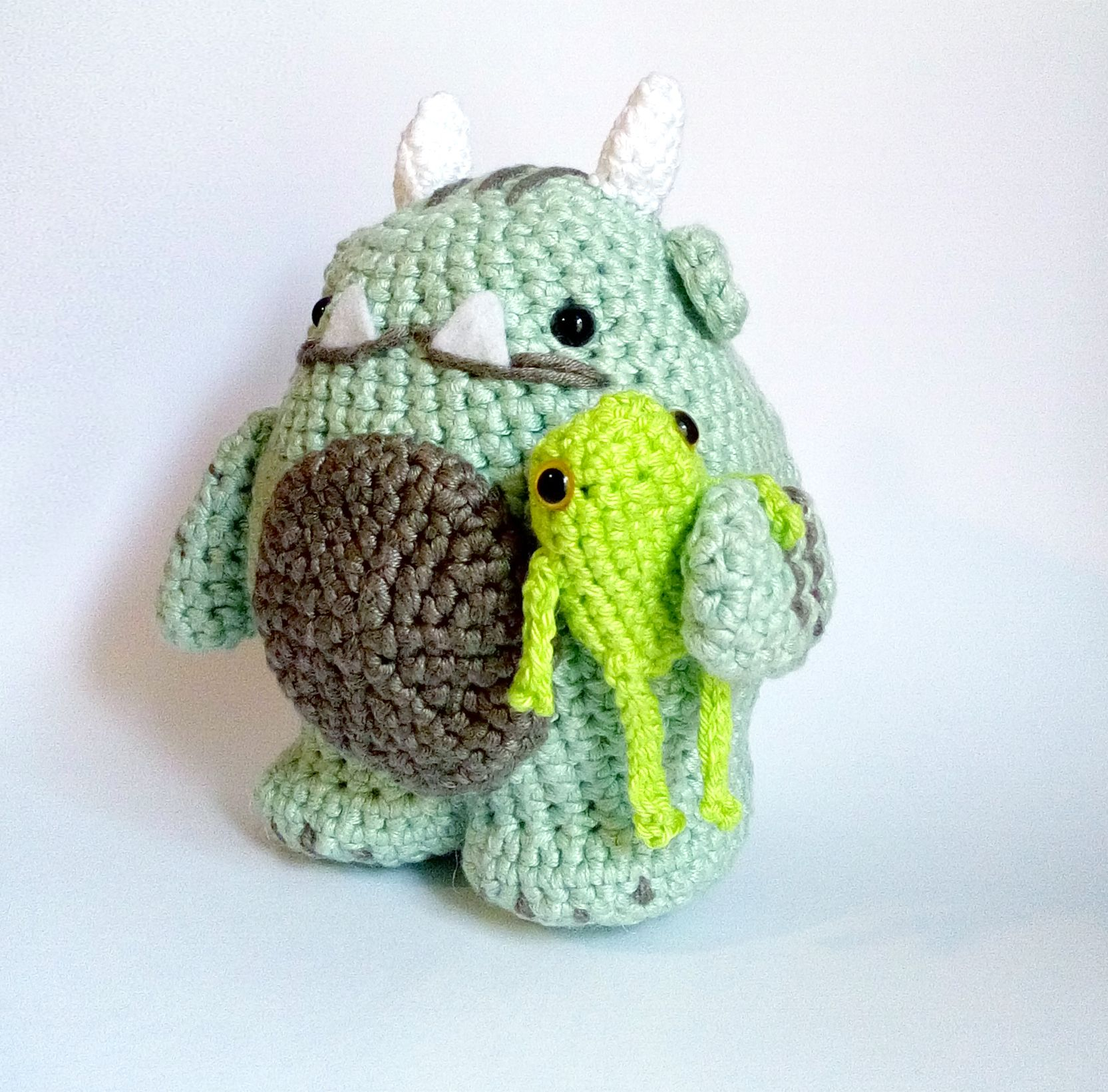 Vote for Sgrunfo the swamp Monster for the Amigurumi Design Contest ...