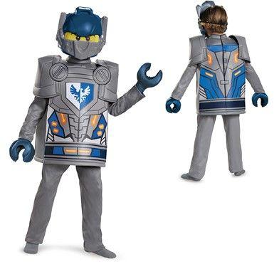 Boys Deluxe Nexo Knights Clay Costume – LEGO | LEGO Costumes ...