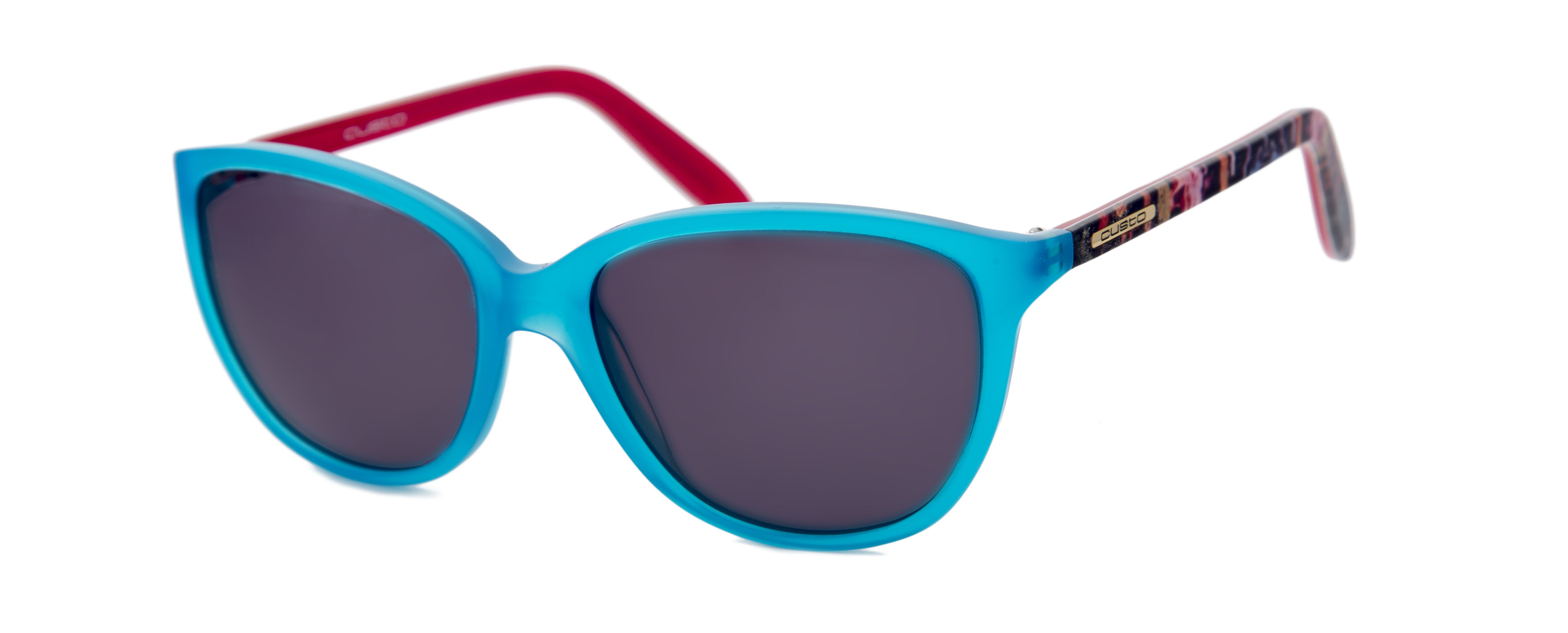 Gafas diseñadas por Custo Dalmau para Opticalia. Montura en color ...