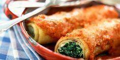 Cannelonis aux épinards et ricotta facile Cannelo+#aux