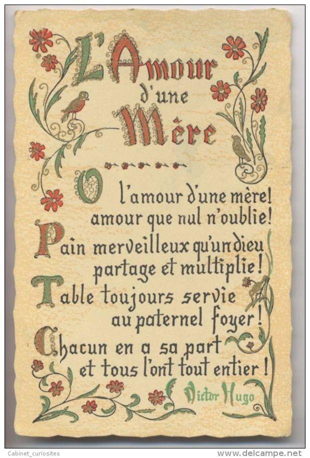 L Amour Dune Mère Poème De Victor Hugo Numéro Dobjet