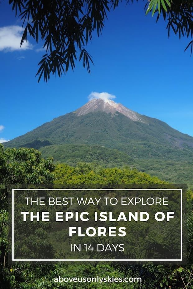 The Indonesian island of Flores is a special brew of volcanoes, remote villages and appalling roads - here's our ultimate 14-day guide...