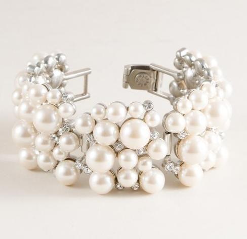 pulseira para noiva Pesquisa Google Pinterest Pearls