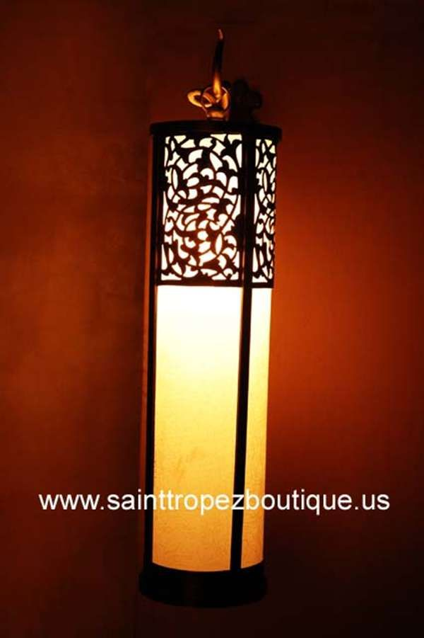 Moroccan Bathroom Wall Lights : Photo of Moroccan sconce 07 Arabesque_Lighting Pinterest Wall sconces, Moroccan and ...