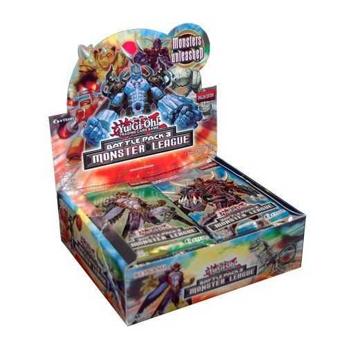 Collectible Trading Card Booster Packs Yugioh Battle Pack 3