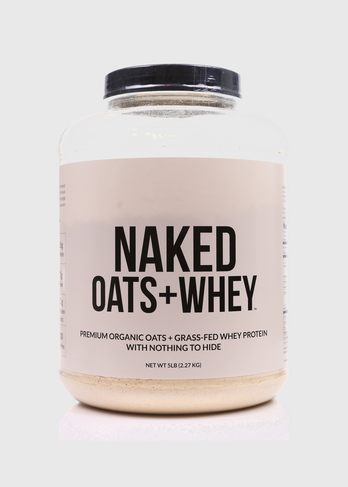 Grass-Fed Whey Protein Powder 5lb - Naked Whey - Naked