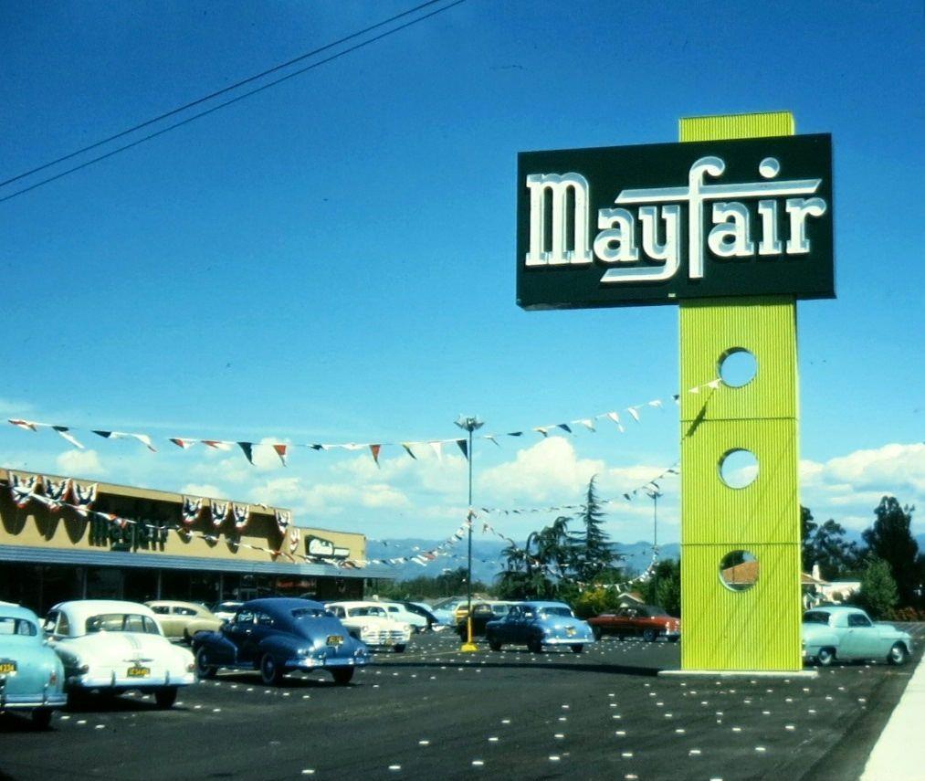 Mayfair Market San Jose, Calif. Sign by Electrical