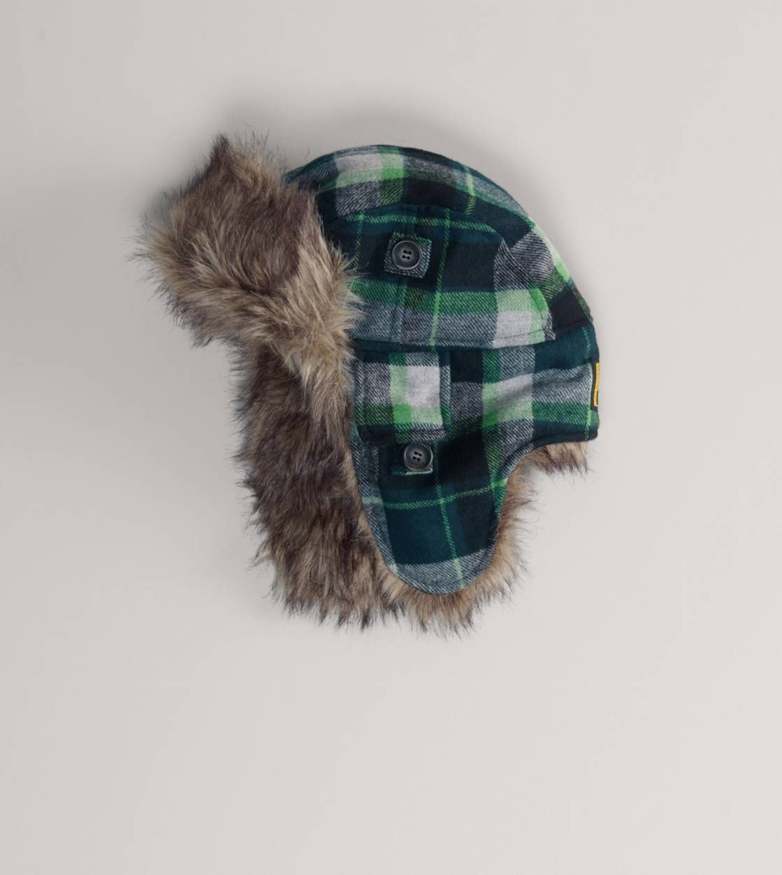 AEO Plaid Flannel Trapper Hat  5aa65d58ff33