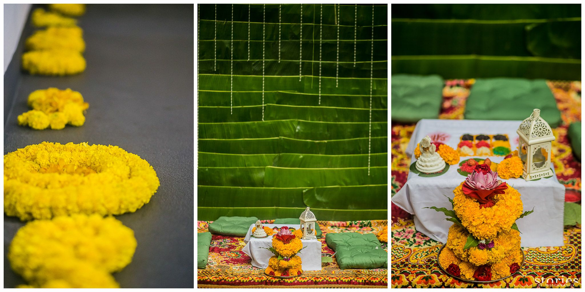 Love The Banana Leaf Backdrop Destination Wedding In Thailand Indian Decor Banana Leaf Indian Inspired Decor
