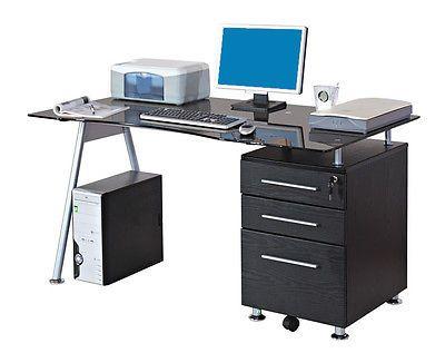 Sixbros Computertisch Computerschreibtisch Bürotisch Schreibtisch