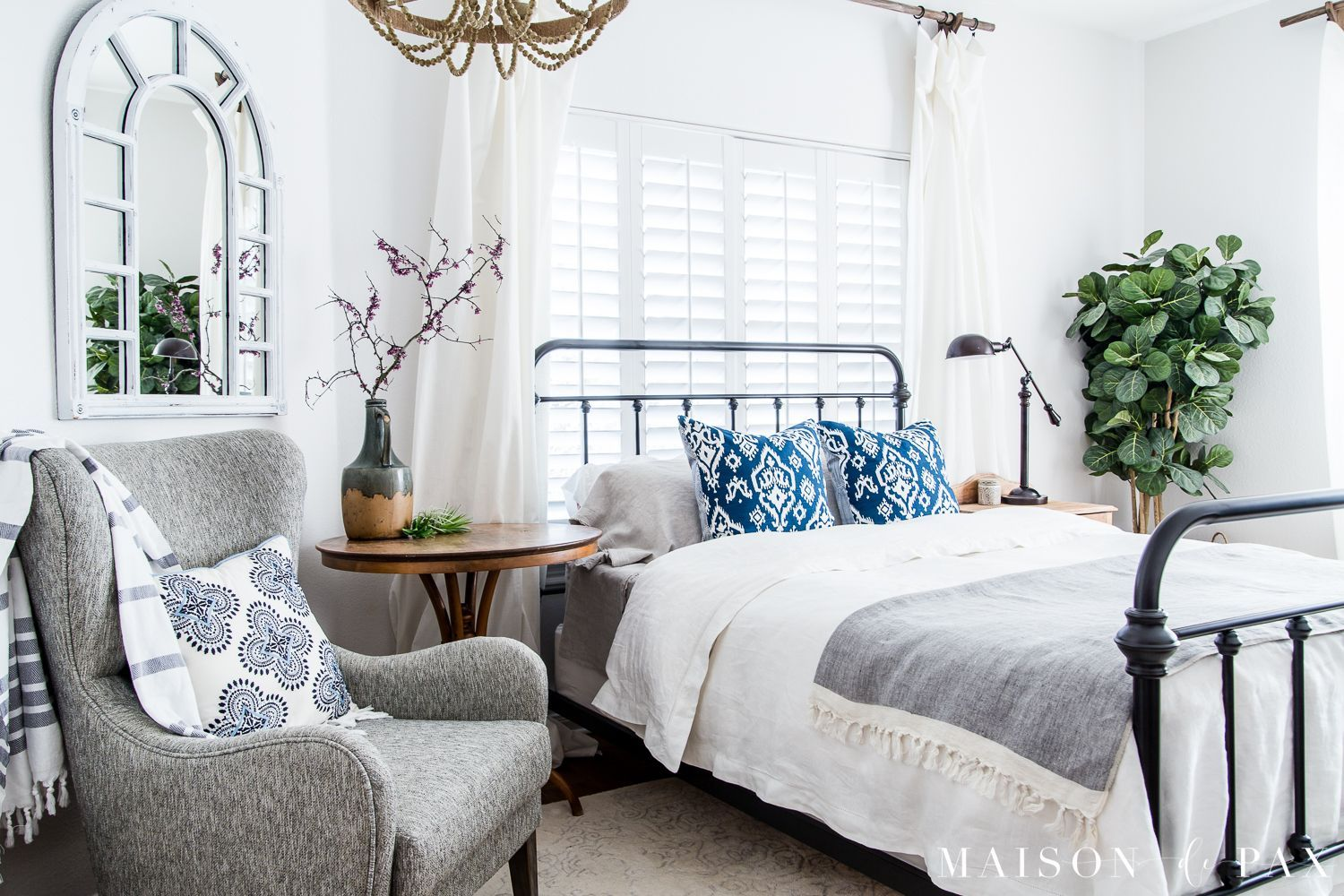 Simple Master Bedroom Decorating Ideas for Spring in 2020 ...