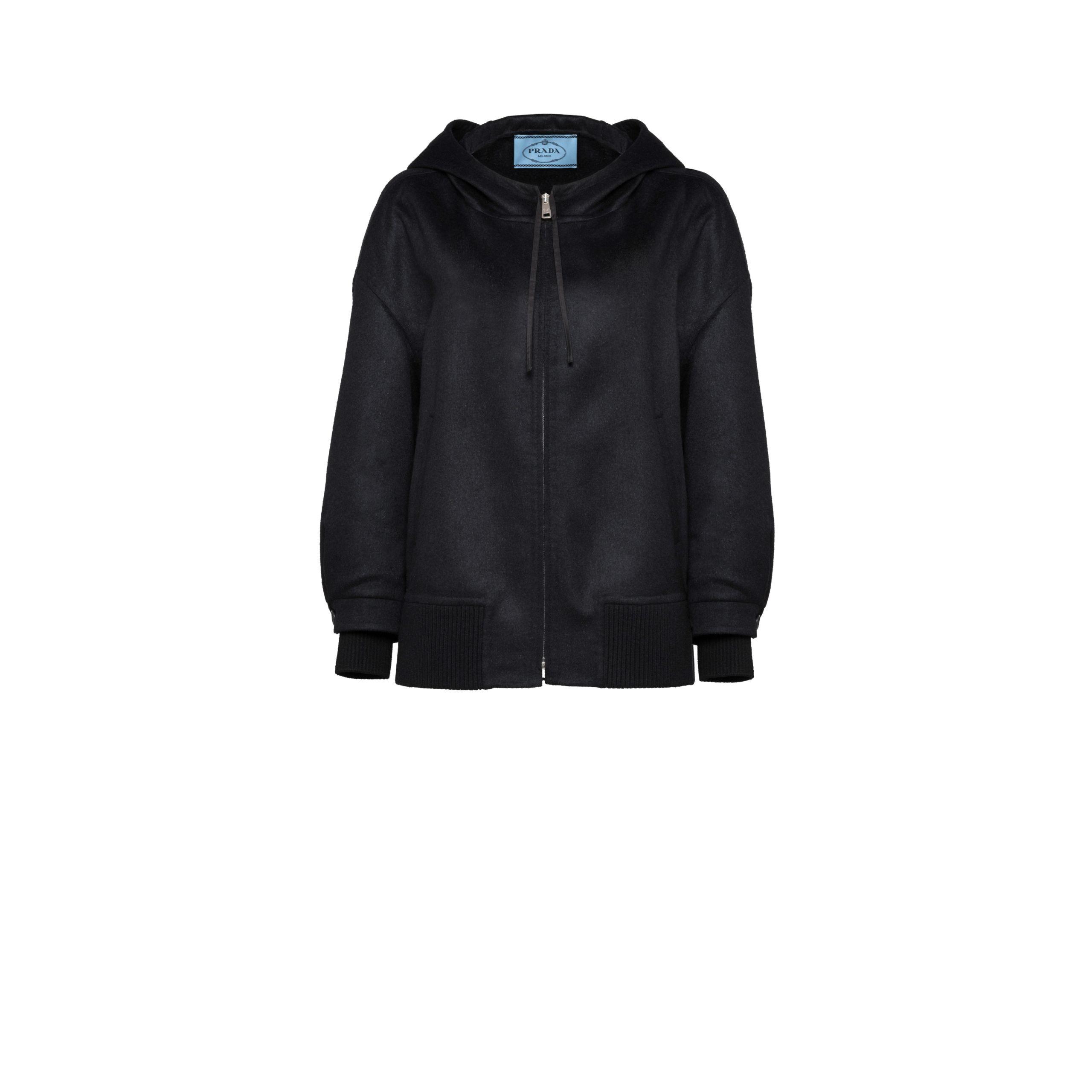 Jacket Cashmere And Caban Prada Wool nS7Tw