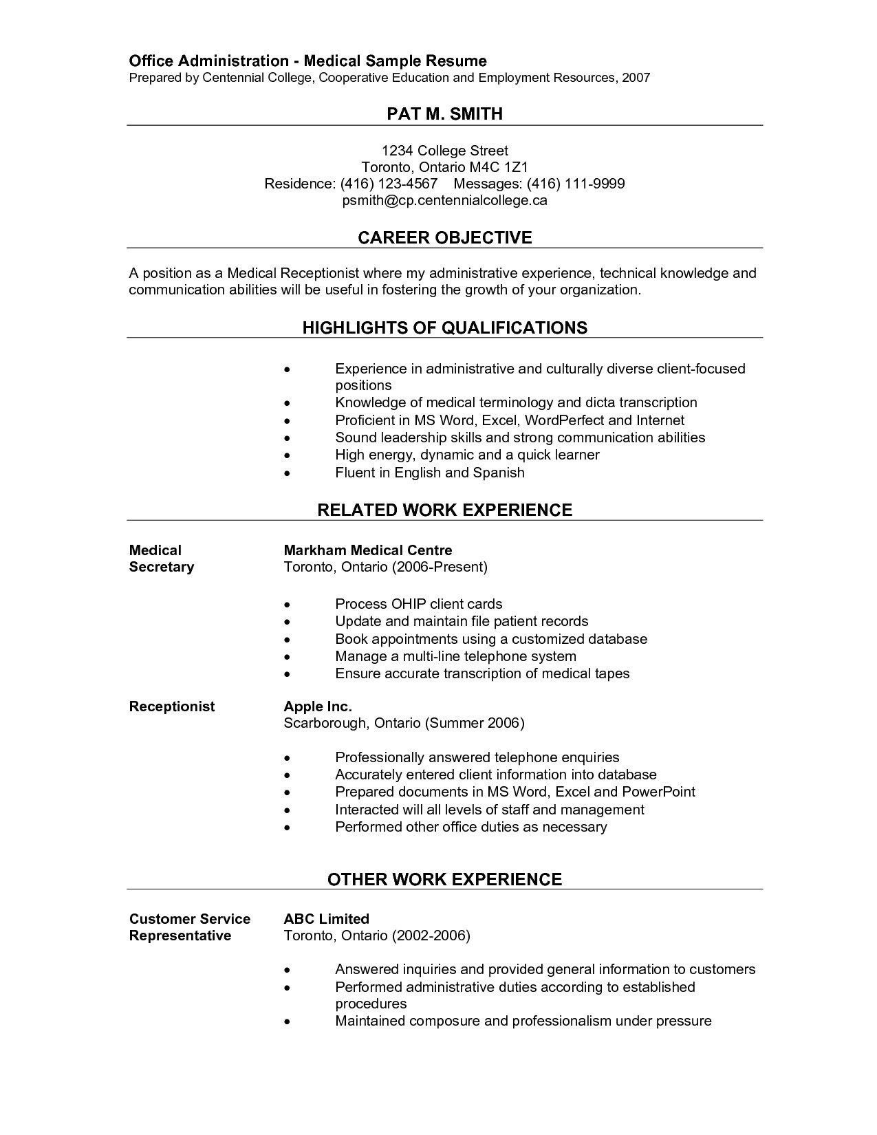 30 Airline Customer Service Resume Medical assistant