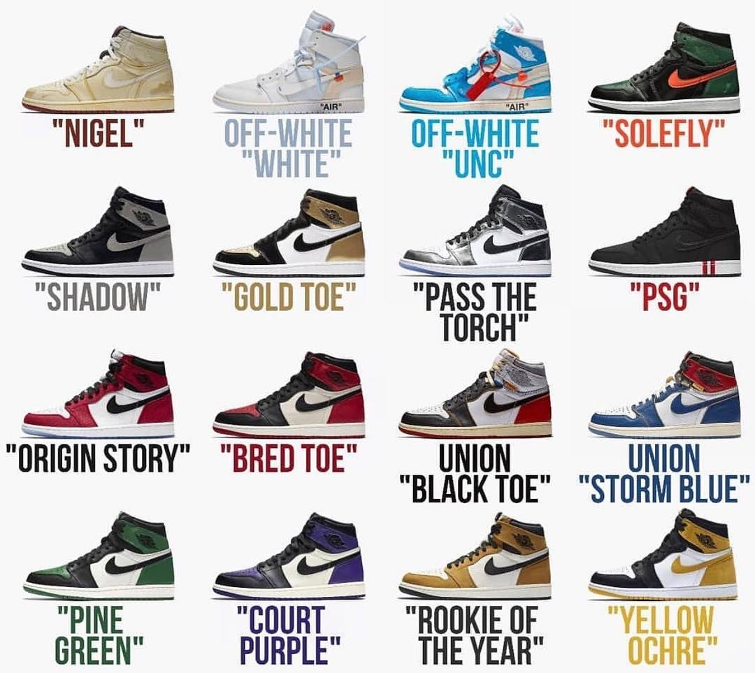 Was 2018 the year of the Jordan 1? What was the best