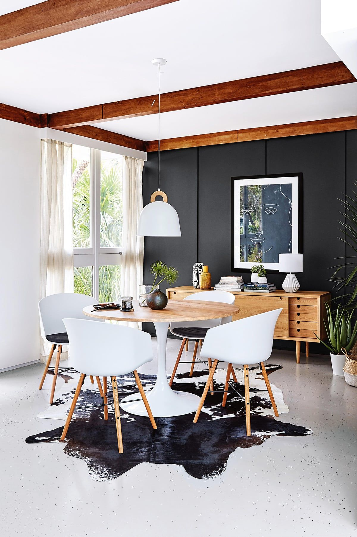 Rugs Under Dining Tables 4 Key Tips To Getting Them Right Tlc