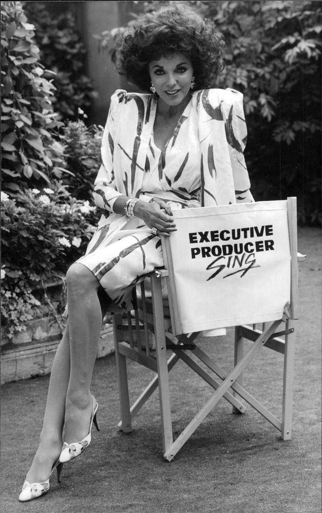 Vintage photo of Actress Joan Collins   eBay