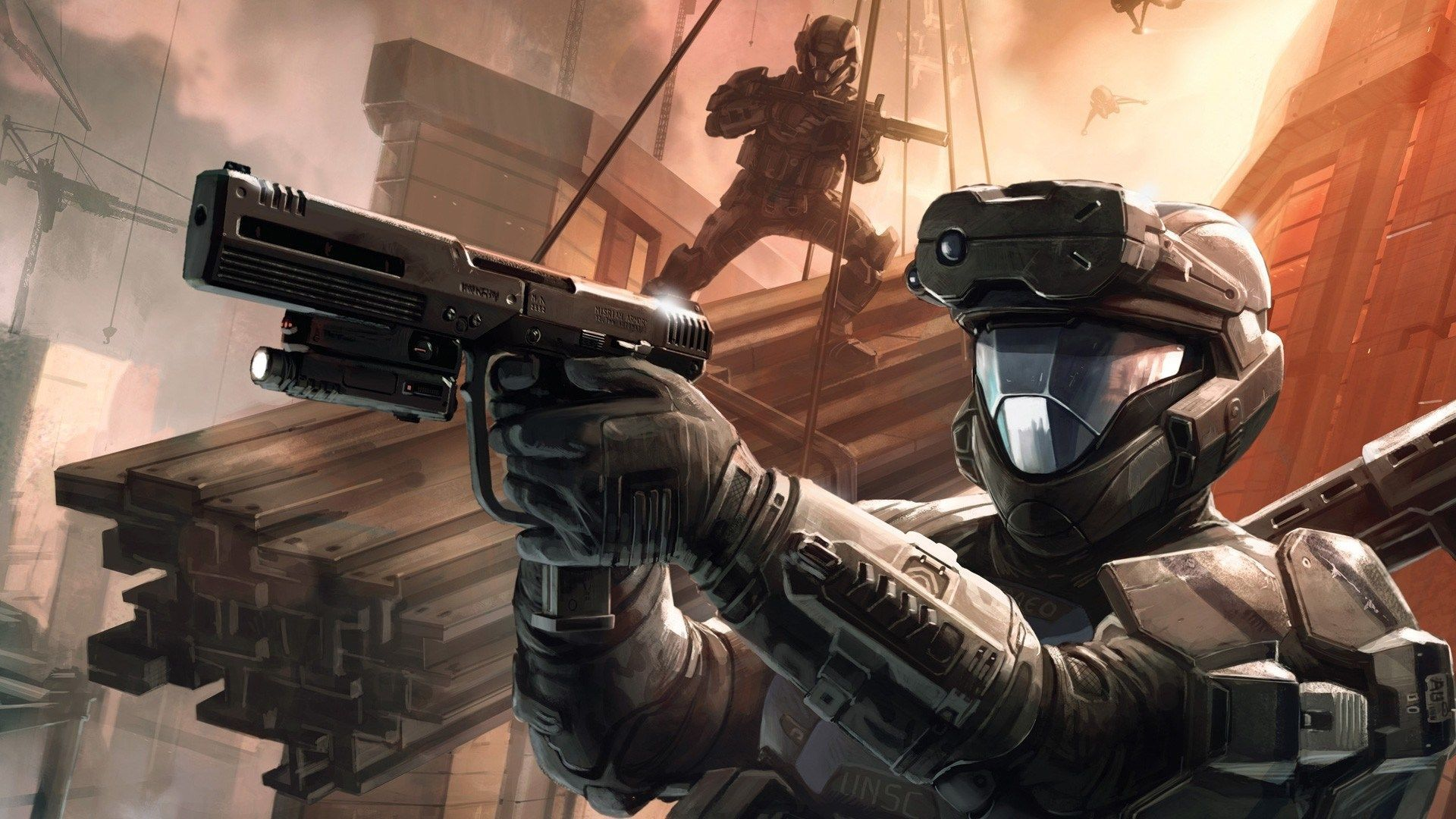 19201080 Halo 3 Odst Game Wallpaper 4k In 2020 Halo Armor Halo Game Halo 3