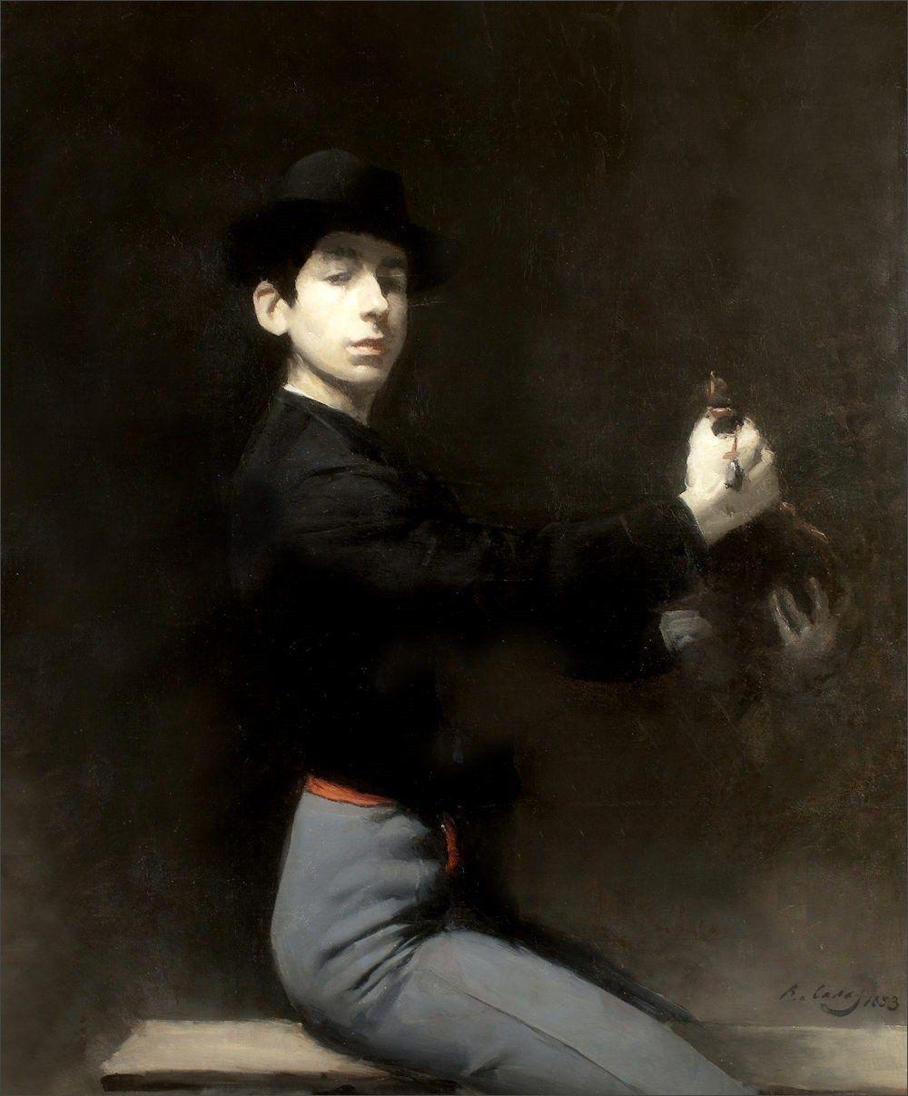 Ramon Casas · Autoritratto in costume da flamenco · 1883