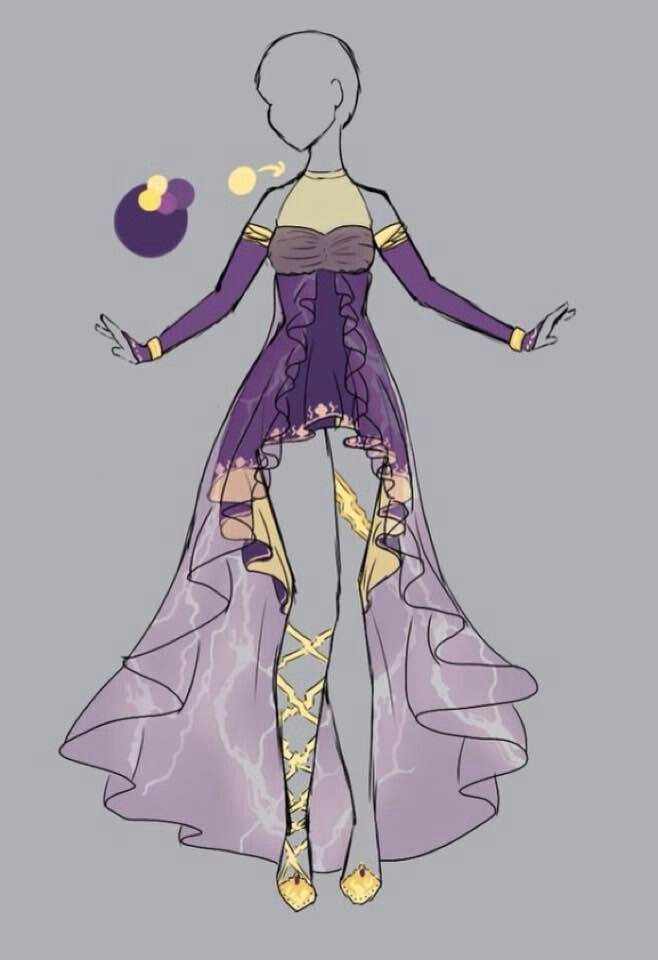 Image Result For Flower Dress Deviantart In Mannequin Anime Dress Anime Outfits Dress Drawing