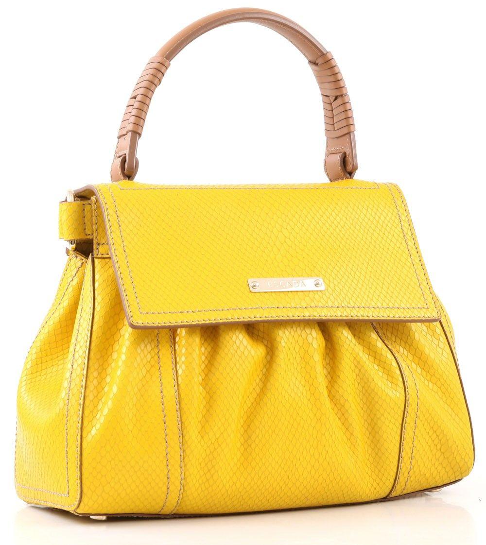 Tasche von Escada, gelb | Taschen, Taschen