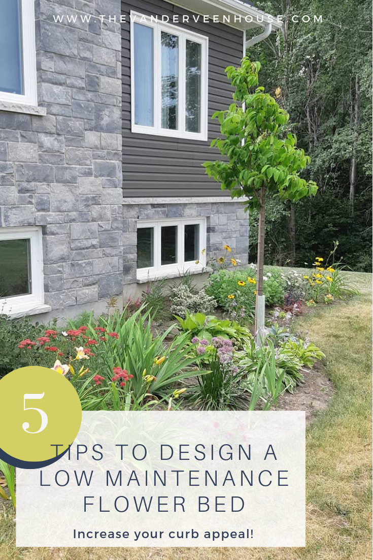 Photo of The best tips for designing and planting a low maintenance flower bed • The Vanderveen House – Modern Design – Garden design layout low maintenance | mekor