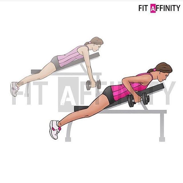 Fit Affinity On Instagram Incline Dumbbell Row Muscles Worked Biceps Forearms Shoulders Lats Using A Neutral Grip Biceps Dumbbell Dumbbell Workout
