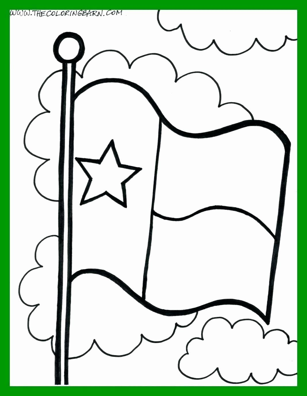 Louisiana State Flag Coloring Page Unique Texas State Symbols