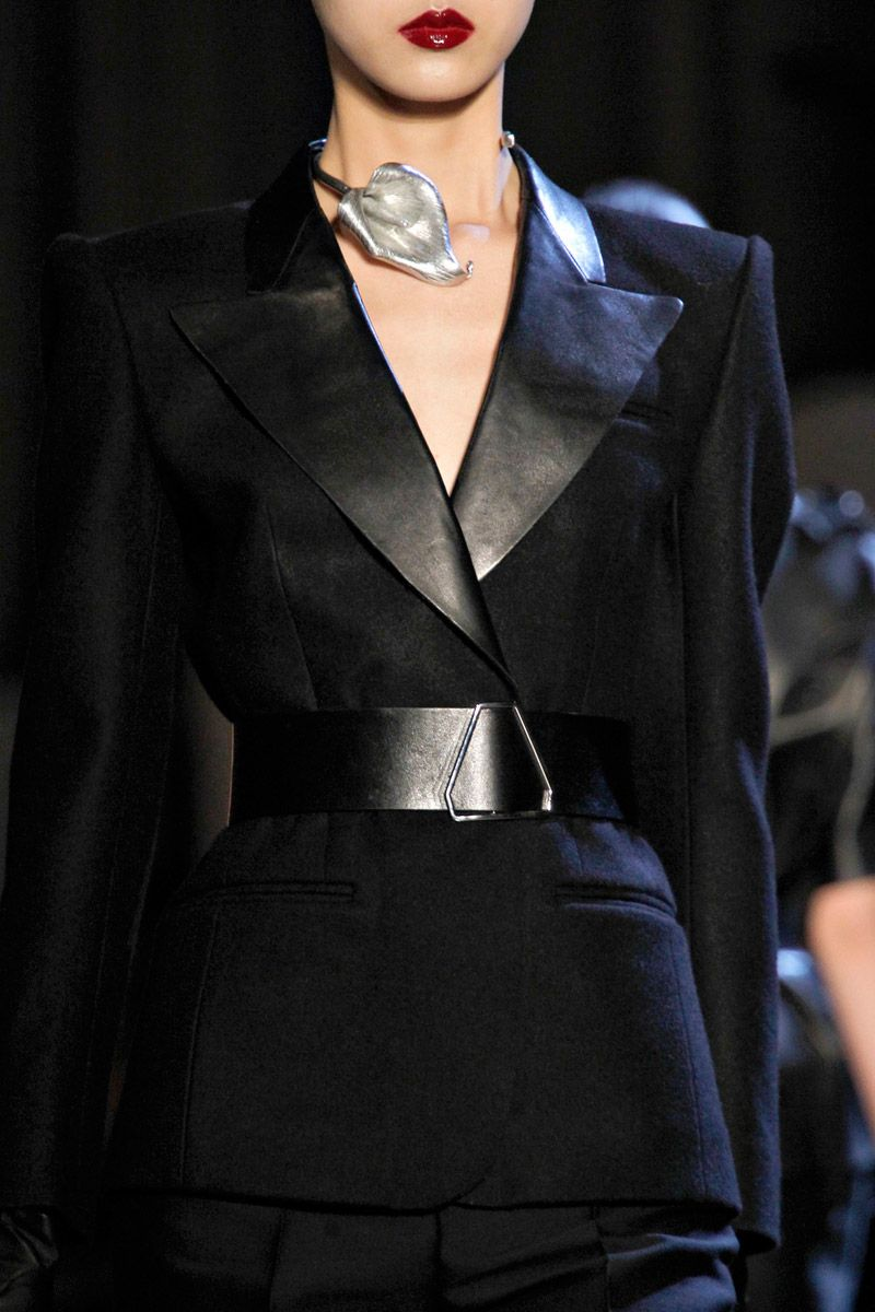 Yves Saint Laurent PFW Fall 2012 rtw