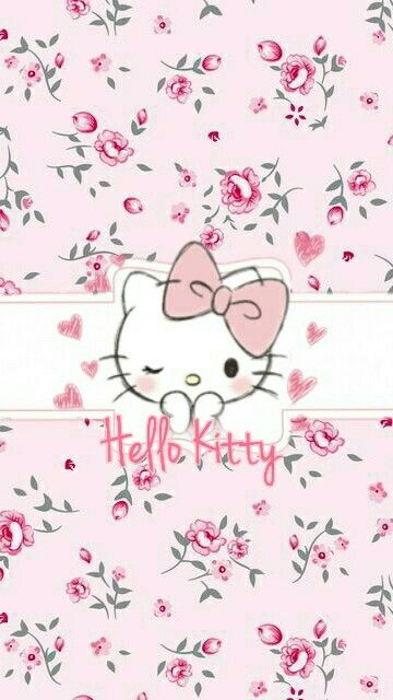 Hello kitty love manualidades pinterest fondos fondos de hello kitty love voltagebd Images