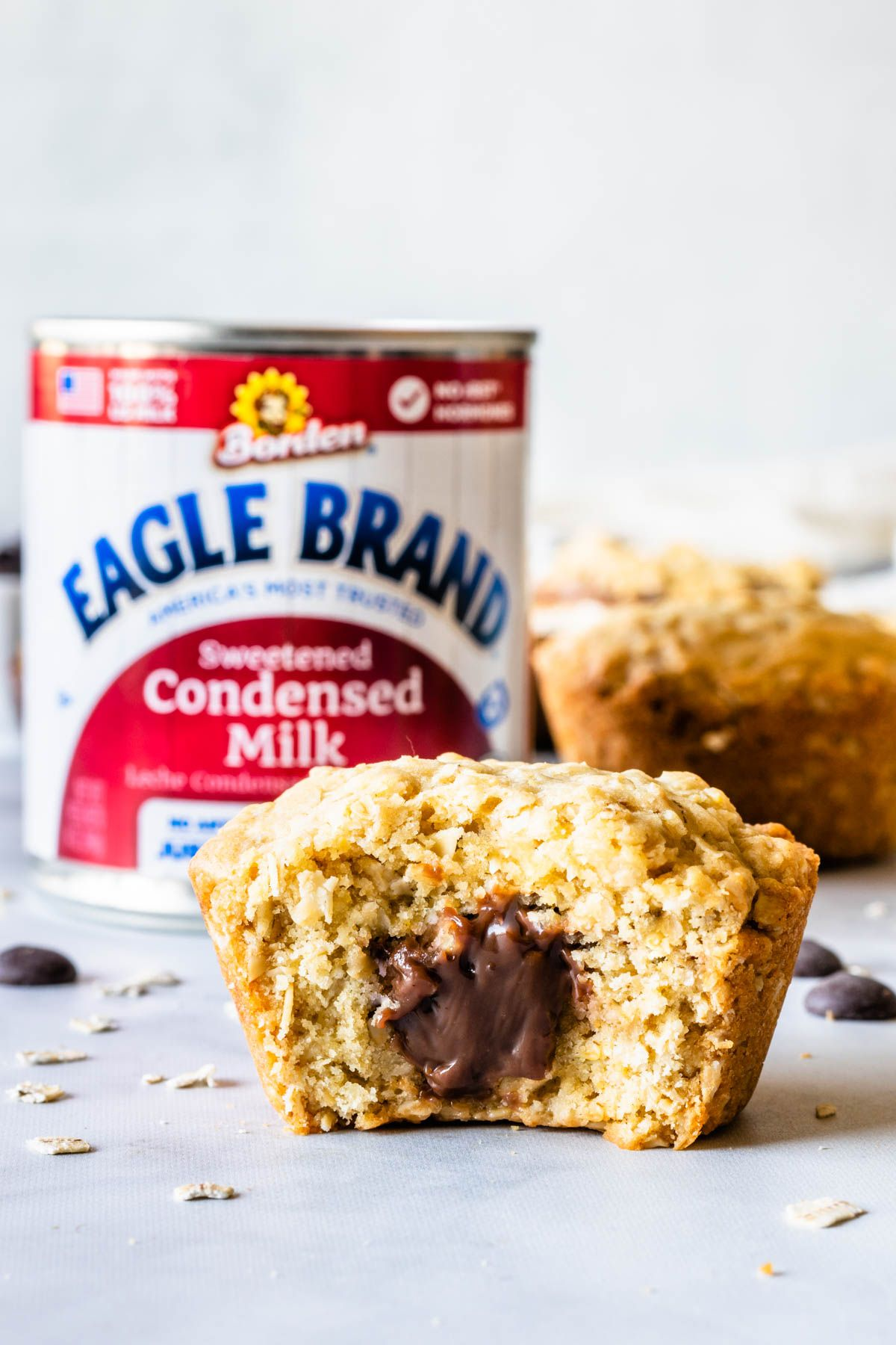 Baked Oatmeal Cups With Chocolate Filling Recipe In 2020 Baked Oatmeal Cups Milk Recipes Oatmeal Cups