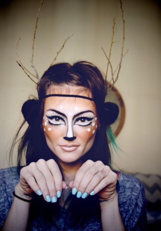 Face paint Maquillajes disfrazes Pinterest - face painting halloween makeup ideas