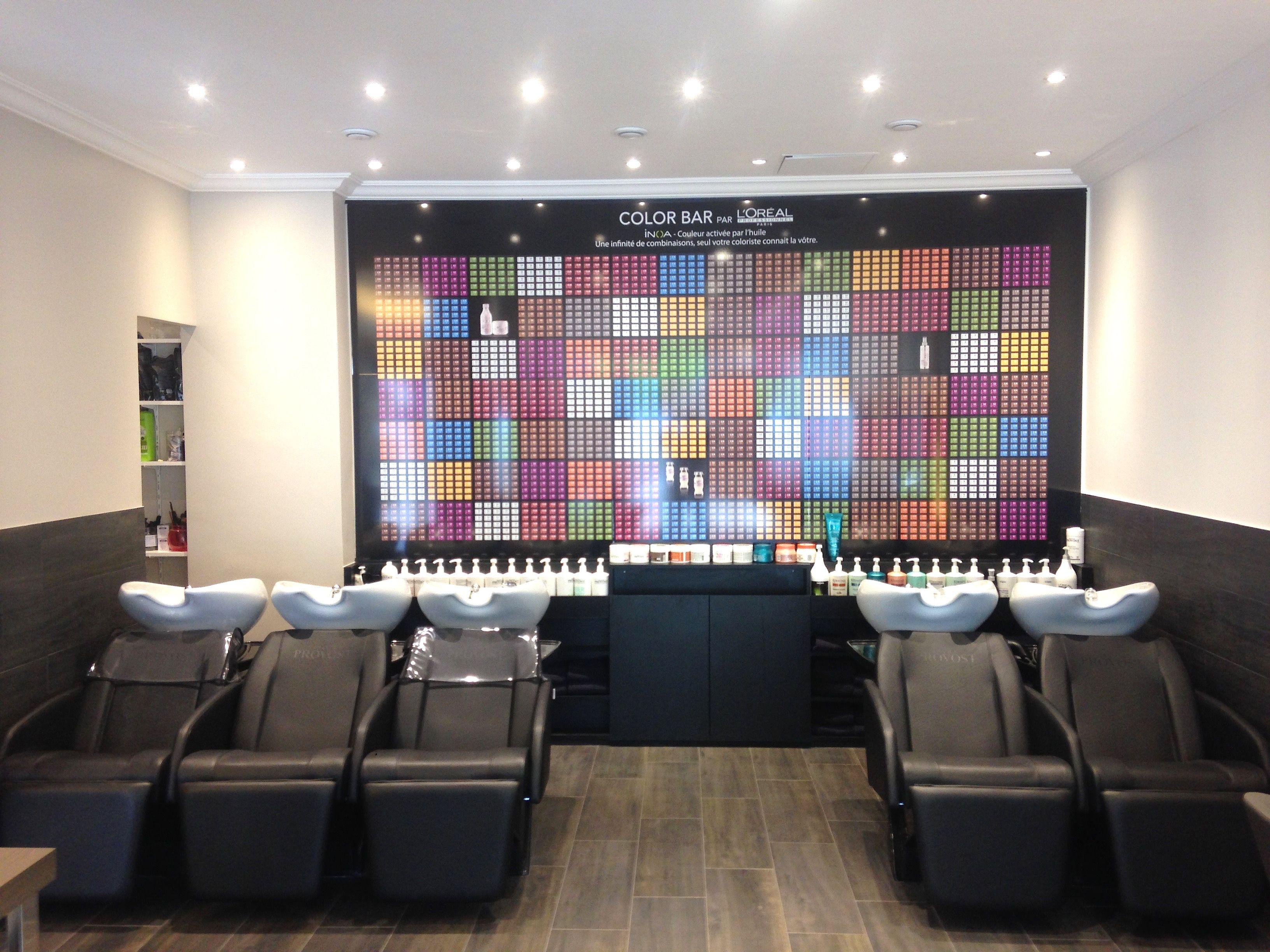 95 best salons coiffure images on Pinterest   Salon ideas ...