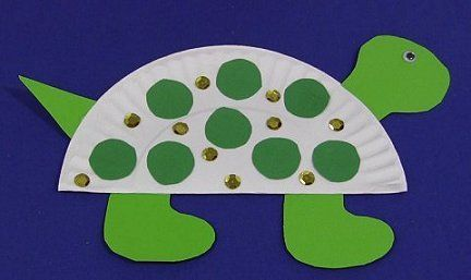 Paper Plate Turtle & Paper Plate Turtle | Kids learning u0026 Game ideas | Pinterest | Turtle ...