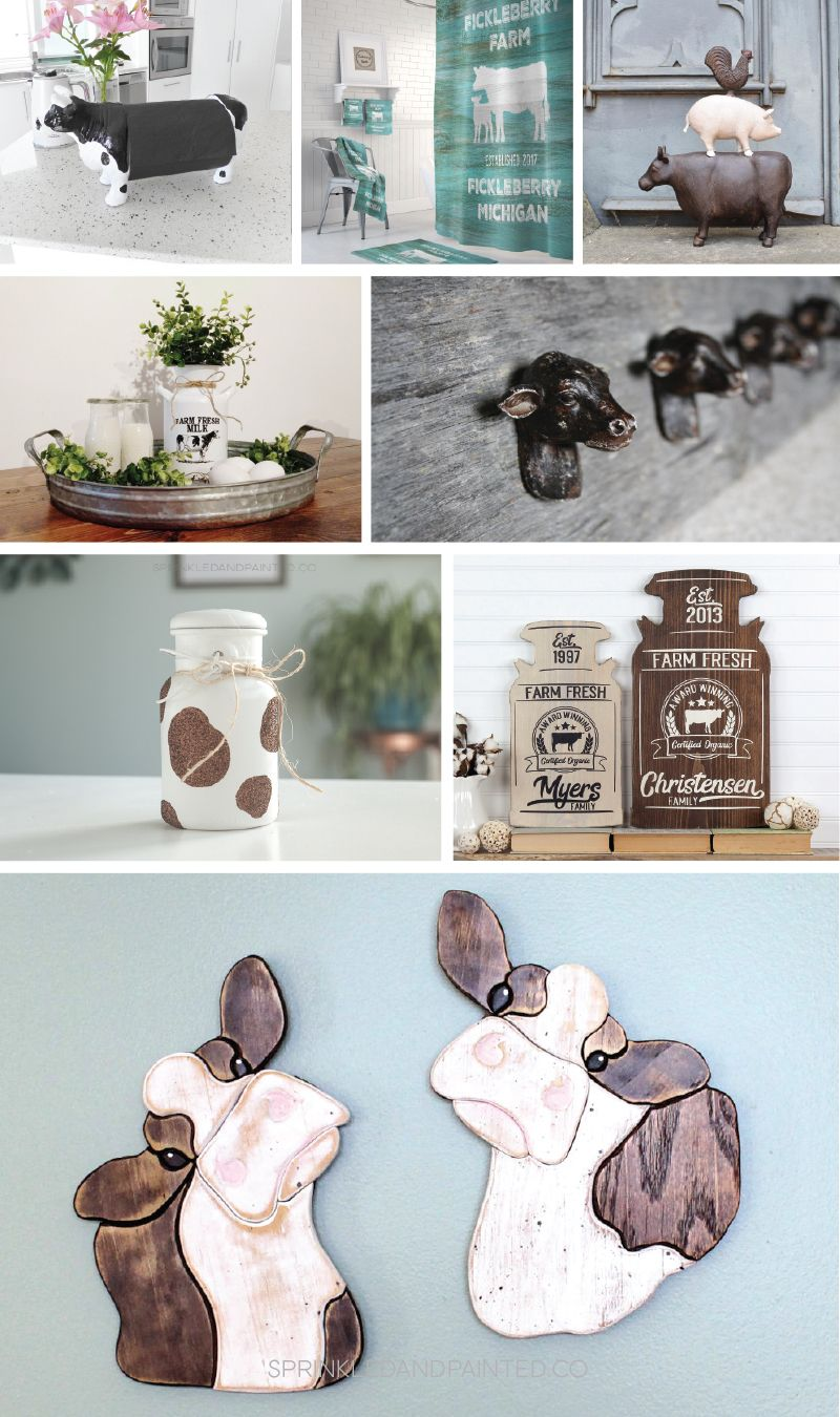 Cow Decorating Ideas