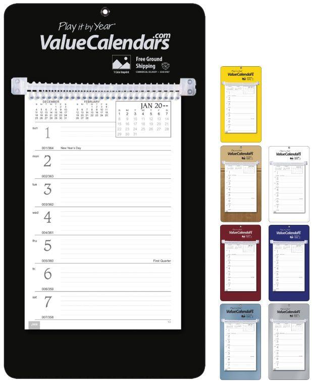 "2017 Weekly Memo Board Calendar | 7"" x 13"" Personalized Imprinted ..."