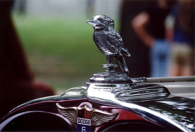 1951 Dodge D40 Kingsway Custom Bird Hood Ornament