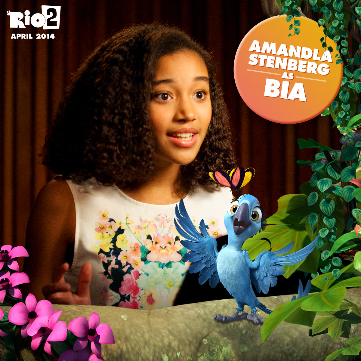 Amandla Stenberg Is The Voice Of Bia In #Rio2, Now Playing