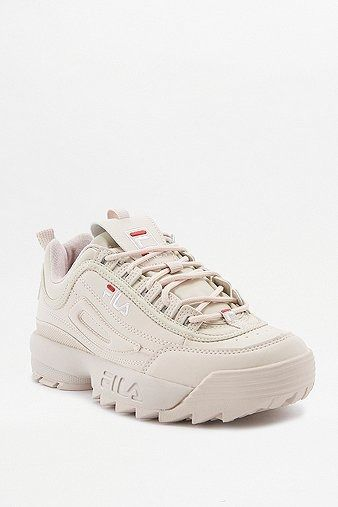 5ae4f7977e0 Fila Disruptor Pink Low Top Trainers
