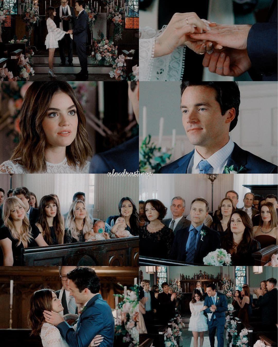 Ezria Wedding Pretty Little Liars Series Pretty Little Liars Preety Little Liars