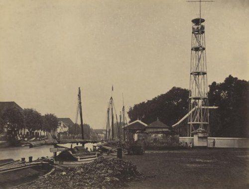 Photo of Kolonialgeschichte. Indonesien (ehemals Niederländisch-Ostindien): Segelschiffe …
