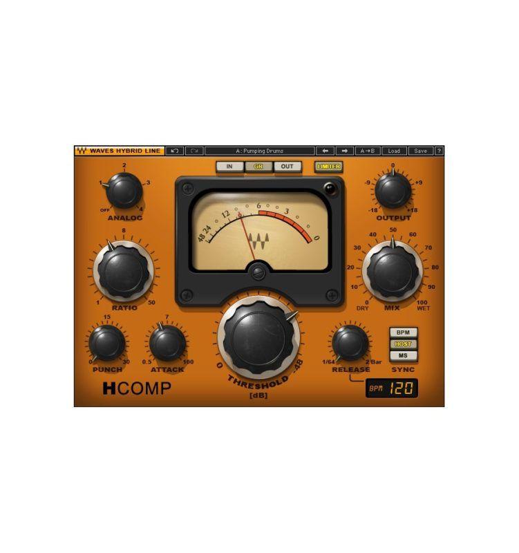 Waves H Comp Waves Audio Compressor Plugins